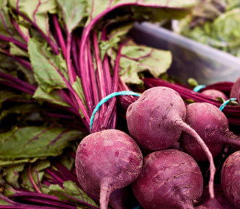 Cooked beet greens are high in potassium