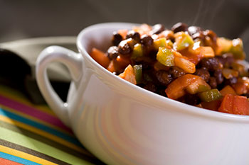 Black Bean Chili - click for recipe!
