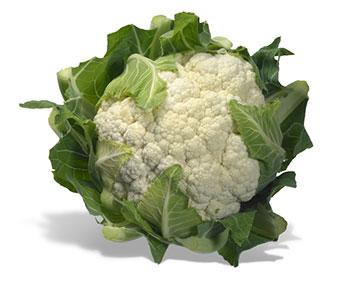 Cauliflower is considered to be high in Vitamin K