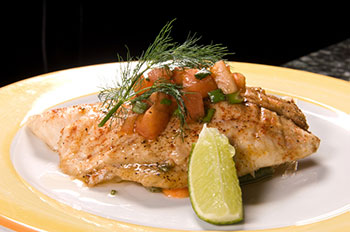 Whitefish, a good source of omega-3 fatty acids
