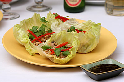 Asian Lettuce Wraps - Click here for the recipe!