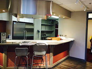 Dr. Ross' teaching kitchen in Columbia, Maryland