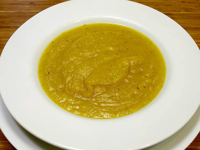 Acorn Squash Soup recipe from Dr. Gourmet