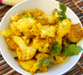 Aloo Gobi recipe from Dr. Gourmet