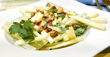 Apple Celery Salad recipe from Dr. Gourmet