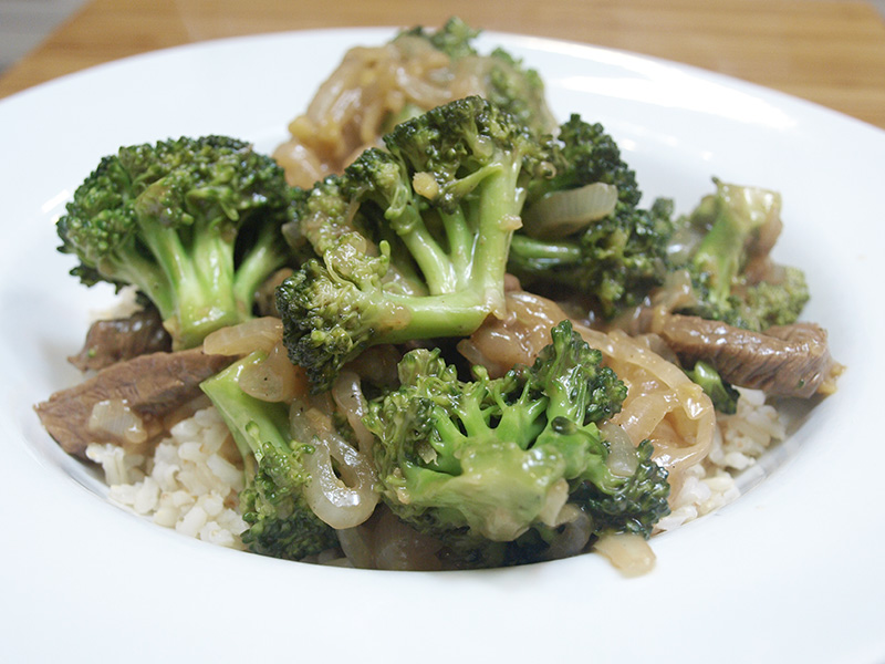 Asian Beef with Broccoli