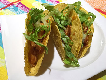 Barbecue Chicken Tacos from Dr. Gourmet