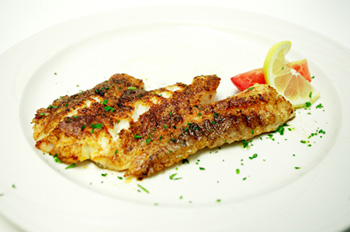 Blackened fish recipe from Dr. Gourmet