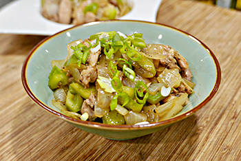 Black Pepper Chicken Stir Fry recipe from Dr. Gourmet, ready in 30 minutes