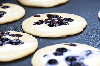 Blueberry Pancakes, a healthy recipe from Dr. Gourmet
