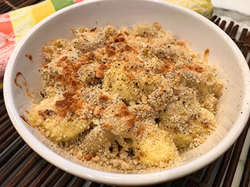 Cauliflower Mac and Cheese recipe from Dr. Gourmet