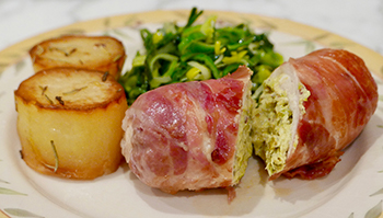Chicken Ballotine, a classic French recipe from Dr. Gourmet