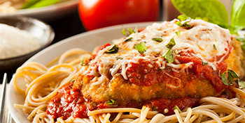 Chicken Parmesan recipe from Dr. Gourmet