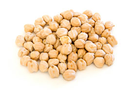Chickpeas, also known as Garbanzo Beans