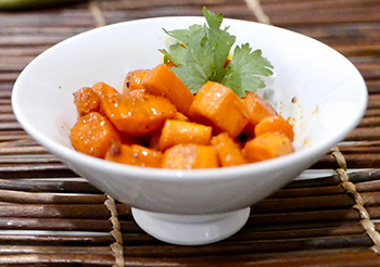 Chili Lime Carrots recipe from Dr. Gourmet