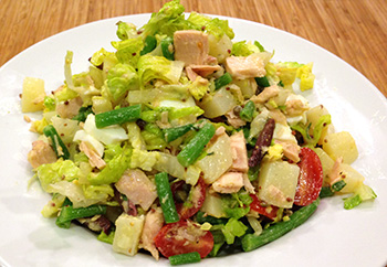 Chopped Nicoise Salad from Dr. Gourmet