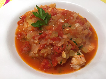 Easy Healthy Cioppino recipe from Dr. Gourmet