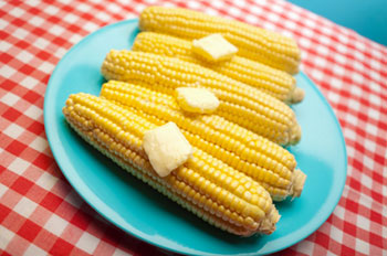Corn on the Cob recipe from Dr. Gourmet