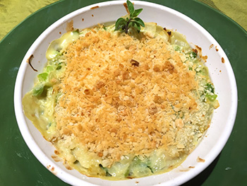 Crab Cake Casserole recipe from Dr. Gourmet