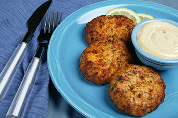 crabcakes - click for recipe!