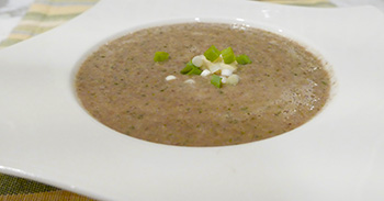 Creamy Lentil Soup recipe from Dr. Gourmet