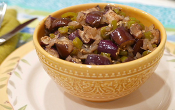 Eggplant Chow Chow recipe from Dr. Gourmet