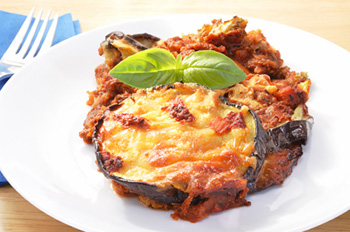 Eggplant Lasagna - click for the recipe!