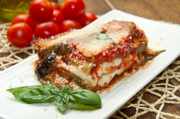 Eggplant Parmesan recipe from Dr. Gourmet