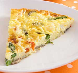 Low sodium salt breakfast recipes from dr gourmet asparagus frittata forumfinder Choice Image