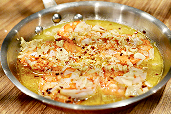 Gambas al Ajillo (Garlic Shrimp) recipe from Dr. Gourmet, a 30-minute meal