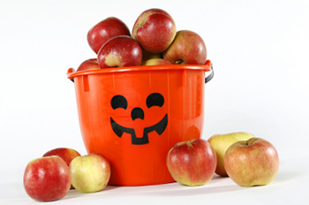 Apples at Halloween