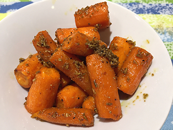 Honey Fennel Carrots recipe from Dr. Gourmet