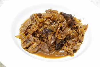 Polish Hunters Stew (bigos) recipe from Dr. Gourmet