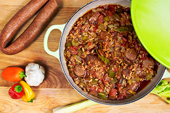 Jambalaya recipe from Dr. Gourmet