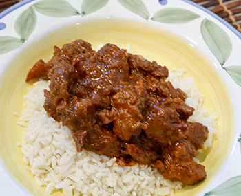 Spicy Lamb Ragout recipe from Dr. Gourmet
