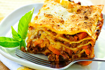 Healthy Lasagna Recipe from Dr. Gourmet