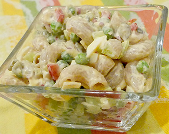 Macaroni Salad recipe from Dr. Gourmet