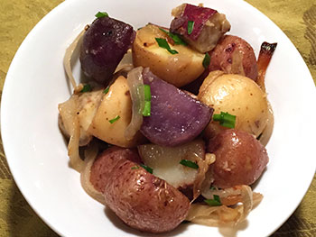 Roasted Mixed Potatoes from Dr. Gourmet