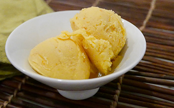 Orange Sherbet recipe from Dr. Gourmet