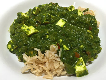 Palak Paneer Recipe from Dr. Gourmet