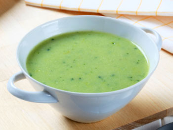 Pea Soup with Chicken recipe from Dr. Gourmet