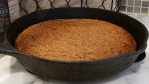 Porcini Cornbread, take one