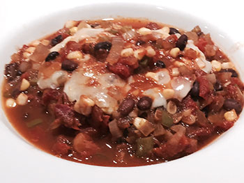 Mexican Pork Casserole from Dr. Gourmet