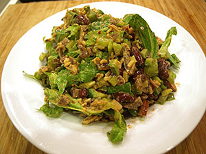 Red Beans and Rice Chopped Salad from Dr. Gourmet