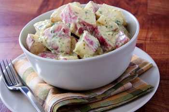 Red Potato Salad recipe from Dr. Gourmet