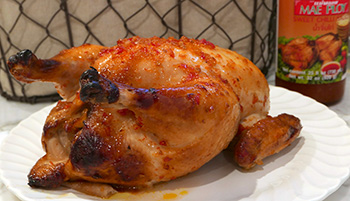 Roasted Chicken with Sweet Chili Sauce from Dr. Gourmet