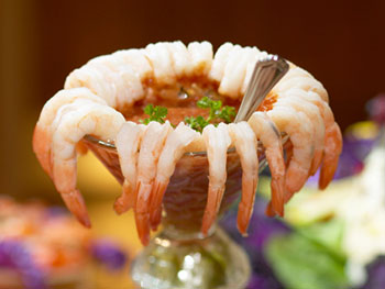 Shrimp Cocktail with Cocktail Sauce