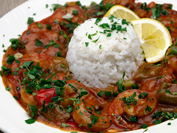 Shrimp Etouffee recipe from Dr. Gourmet
