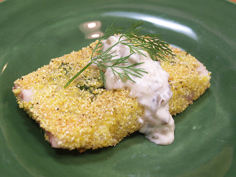 Simple Pan Fried Fish Recipe from Dr. Gourmet