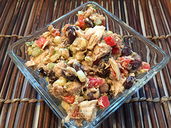 Southwestern Tuna Salad, a recipe from Dr. Gourmet